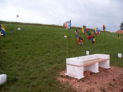 projekt skulpturenweg bl. Black Bedroom Furniture Sets. Home Design Ideas